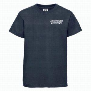 Jugendeuerwehr T-Shirt navy blau