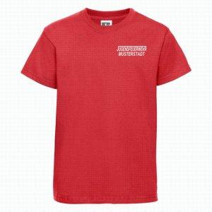 Jugendeuerwehr T-Shirt rot