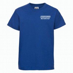 Jugendeuerwehr T-Shirt royal blau